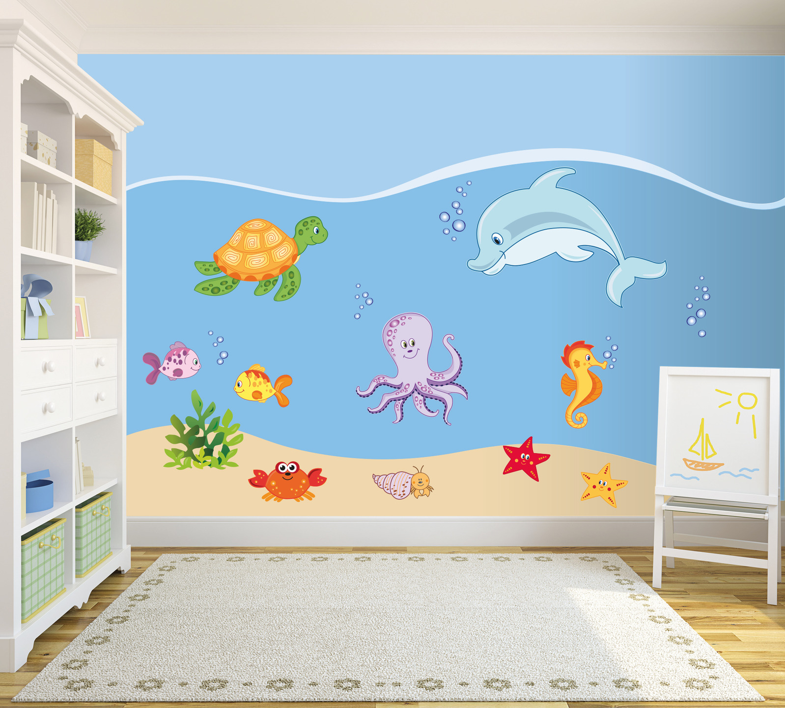 Decorazioni Camerette Bambini Pictures to pin on Pinterest